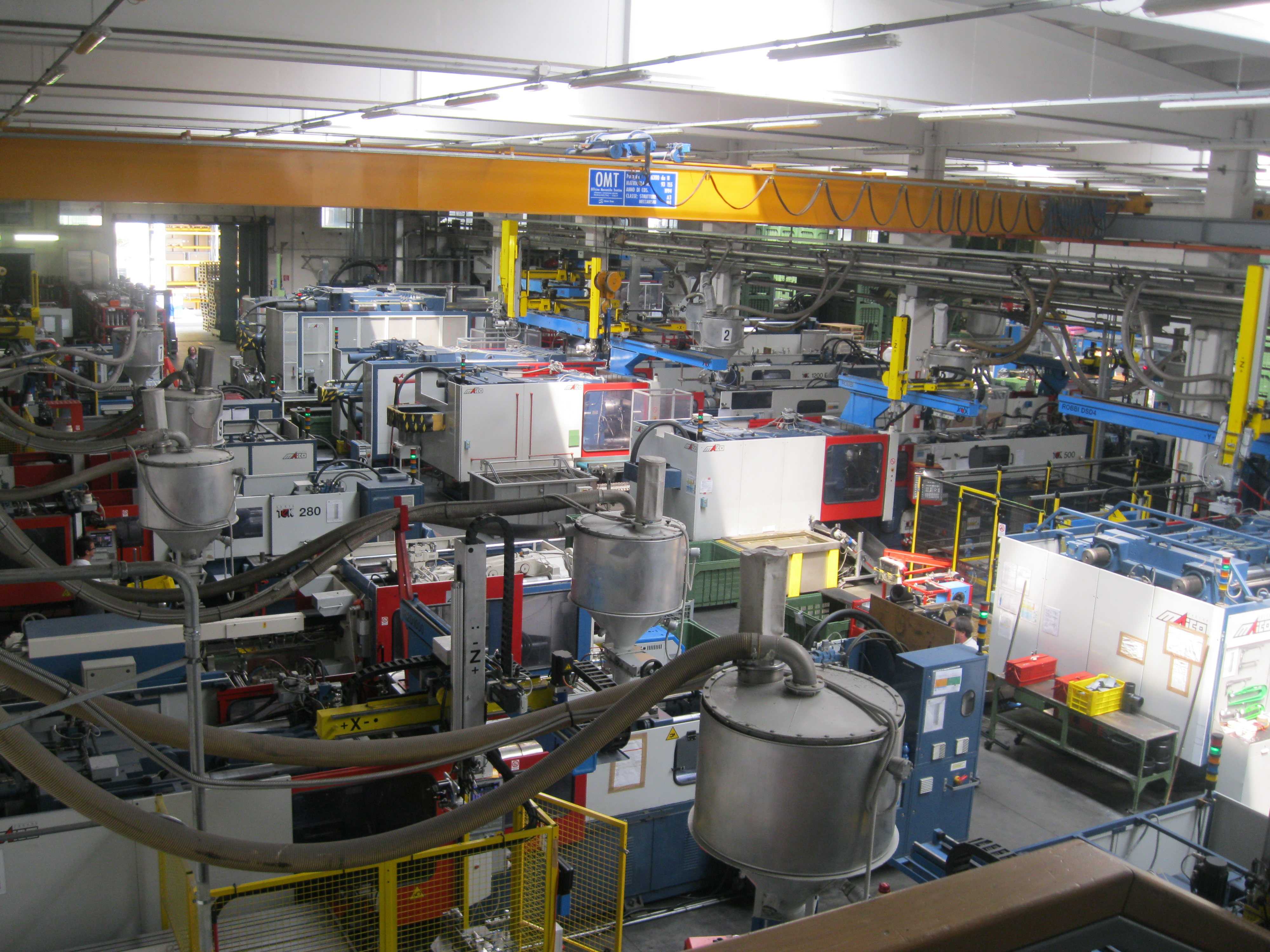 Nadzor tvornice PE spojnica Italija-proizvodni pogon-ispitivanje 6-2013-4