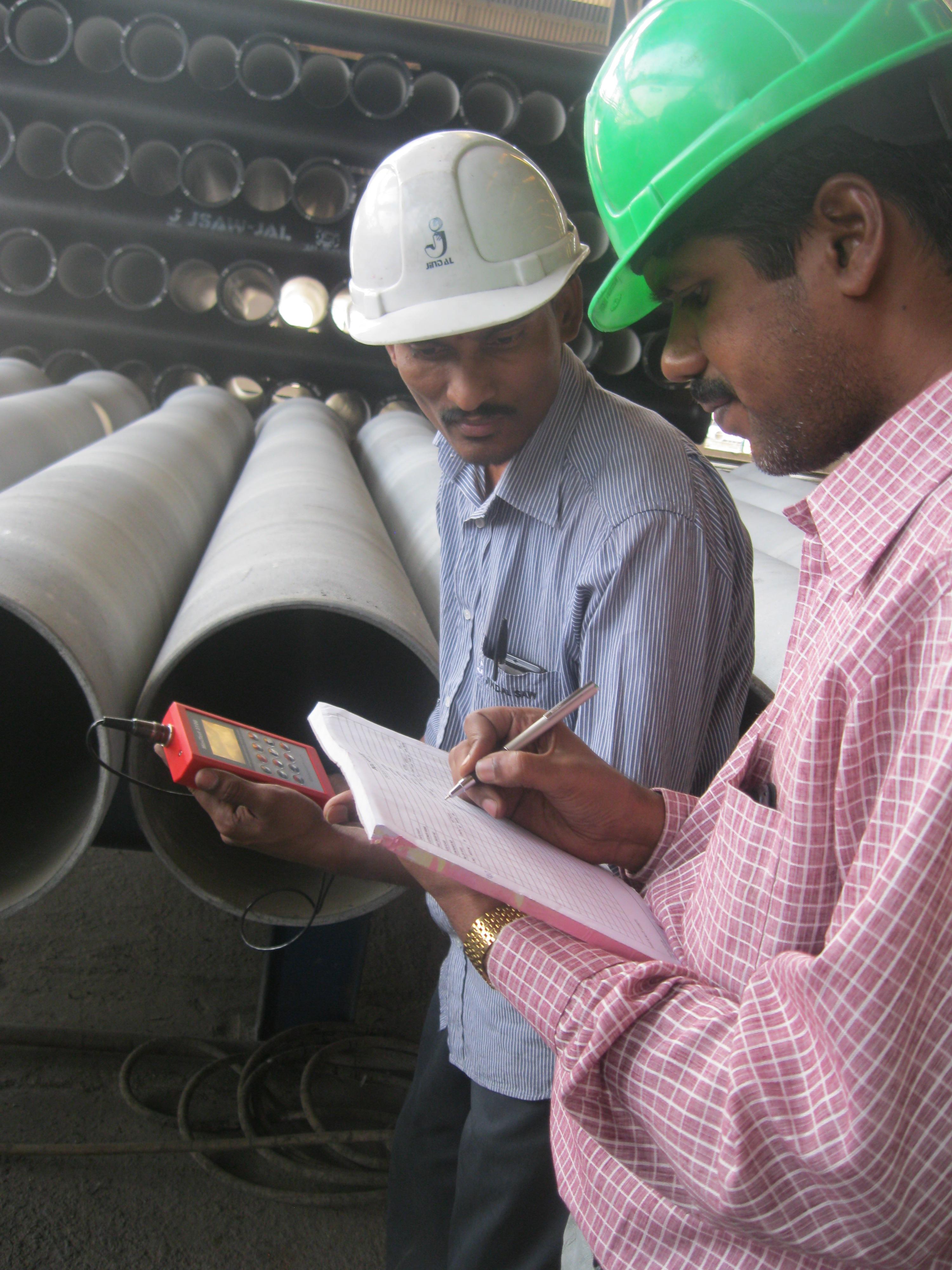 Nadzor tvornice duktilnih cijevi-ispitivanje prema zahtj.inspektora ZIK-a - Indija- 11-2013-3